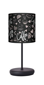 Lampa stołowa - EKO - Coffee time black